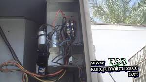 how to replace annoying noisy buzzing air conditioner contactor how to replace annoying noisy buzzing air conditioner contactor plus capacitors real time