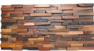 tap and hold to zoom image wood mosaic tiles reclaimed wall