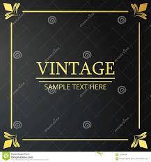 Web Design Sample Text Vintage Poster Sample Text On Black Vintage Background With