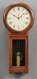 mahogany seth thomas regulator no 2 wall clock