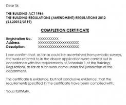Completion Certificates Building Regulations Completion Certificates Mckellen