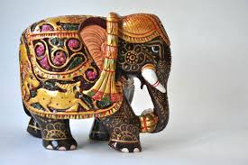 hand painted elephant handmade home decoration elephant