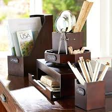 wooden desk accessories wood and organizers wooden desk accessories