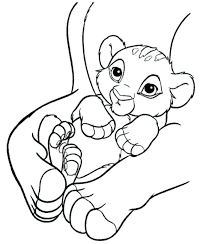 simba coloring pages medium size of coloring books and baby tiger inspirational the lion baby simba