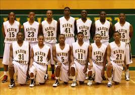 Boys Varsity Basketball Klein Forest High School Houston Texas
