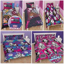 Monster High Queen Size Bedding Set