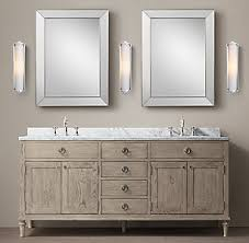 66 inch double sink bathroom vanity. new maison double vanity - antiqued grey oak 66 inch sink bathroom