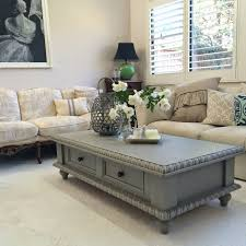 Coffee Table Painting Pine Coffee Table Makeover Paint Ascp Frenchlinen Lilyfield