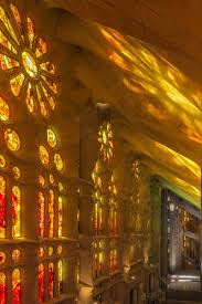 The Sagrada Famílias Stained Glass Windows Captivating Light
