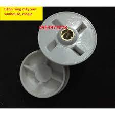 Nhông - Đế nhựa - Bánh răng máy xay sinh tố Sunhouse ( màu trắng đục 4  cạnh)