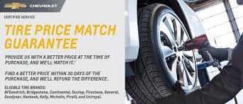chevy tire match gurantee