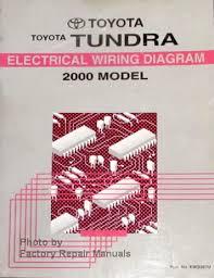2000 toyota tundra truck electrical wiring diagrams original manual 91 Toyota Pickup Wiring Diagram toyota tundra wiring diagram 2000 model