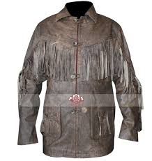 deadfall eric bana addison fringe distressed brown jacket