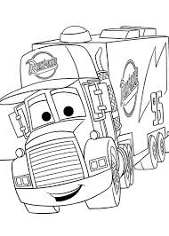 Small Picture Mack from Disney Cars 2 Coloring Page Download Print Online