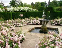 Victorian Garden Designs Concept