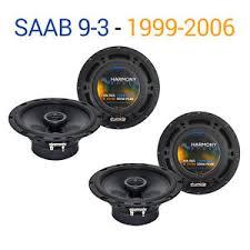 saab 9 3 speakers saab 9 3 1999 2006 oem speaker upgrade harmony speakers 2 r65