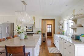 White Kitchens Fantastic White Kitchen Design With Wooden Floor And Smart Cabinet