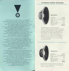 jbl d130. this is from the 1962 brochure. they show d130s all way back to 1950 brochures (probably earlier). jbl d130