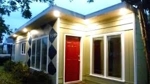 under soffit lighting. Led Soffit Lighting Outdoor Low Voltage Under Eave Flood Lights  Exterior . S