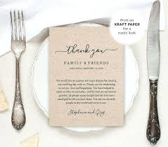 Wedding Thank You Samples Thanks For Wedding Invitation Quotes Thank You Letter Cute Speech
