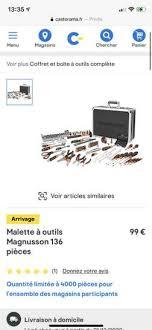 Achat d electromenager et de petit electromenager. Mallette A Outils Magnusson 119 Pieces Dealabs Com