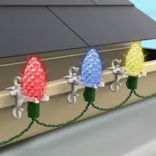 Commercial Christmas Hardware Rope Light Clips Commercial Christmas Hardware 9060 99 5635 Deluxe Shingle Gutter Light Clips White