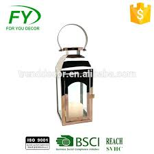 new table lantern and wedding metal candle with glass panels moroccan lanterns uk