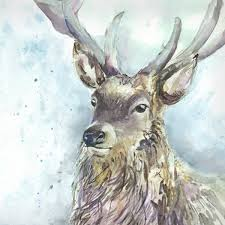 voyage maison wallace stag framed art