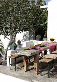 Decking furniture ideas Upcycled 10 Best Summer Tables Camille Styles Rustic Table Rustic Outdoor Outdoor Decking Pinterest 123 Best Patio Furniture And Ideas Images Outdoor Living Outdoor