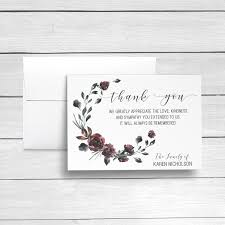 Personalized Sympathy Thank You Cards Sympathy Acknowledgement Cards Bereavement Cards Funeral Etsy