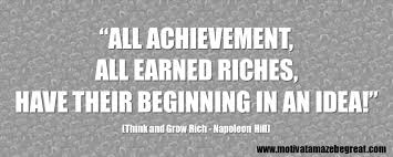 Think And Grow Rich Quotes Awesome 48 Best Think And Grow Rich Quotes By Napoleon Hill Motivate Amaze