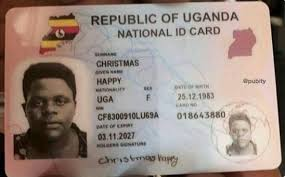 Replace How Dignited Lost Id In To Uganda - National A