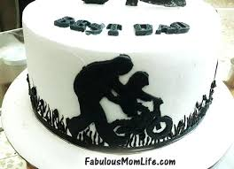 Happy 40th Birthday Cake Images For Him Silhouette Dad And Gift