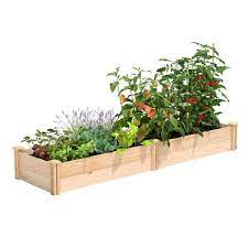 premium cedar raised garden bed