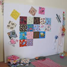 Quick and Simple Design Wall » Dollar Store Crafts & I can't believe I've been making quilts as long as I have without any kind  of design wall! A design wall is an area on your wall where you can lay out  ... Adamdwight.com