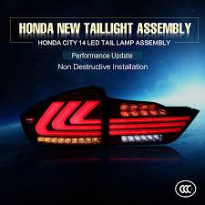 Honda Jazz Modification 2014 Year Honda City Rear Lamp 932v Dc