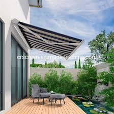 retractable patio sun shade awning
