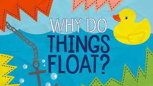 why do things float in water