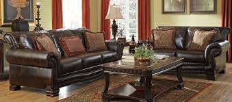 Of Living Rooms With Leather Furniture Ashley Furniture Leather Living Room Sets Living Room Design