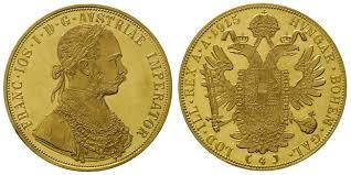 Znalezione obrazy dla zapytania 4 złote dukaty austriackie (czworak)