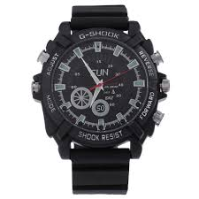16gb 1080p waterproof quartz watch casual sport wrist smart watch