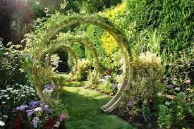 freestanding flower circle grange fencing