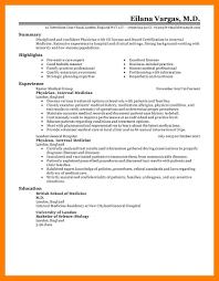 9 Medical Resume Templates Self Introduce