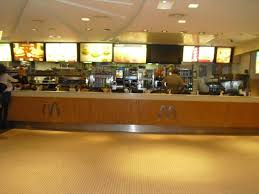 mcdonalds inside counter. Interesting Inside McDonalds  Champs Elysees Counter Empty In The Early Morning On Mcdonalds Inside