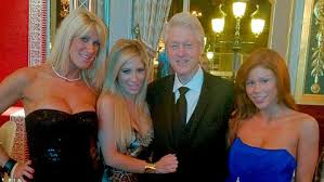 Image result for bill clinton bimbo pics