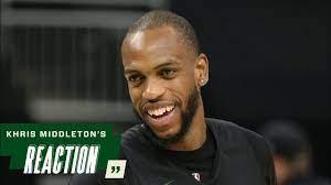 Khris Middleton NBA Finals Media ...