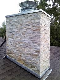 photo of fireplace improvements reseda ca united states chimney refacing usine ledger