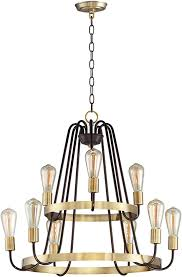 maxim 11737oiab haven modern oil rubbed bronze antique brass chandelier light loading zoom