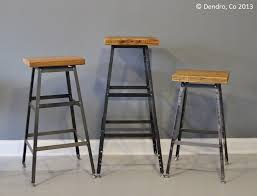 Chair Stool Barstool Industrial Bar Stool-Urban by DendroCo