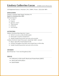Graduate School Resume Template Microsoft Word Grad School Resume Template